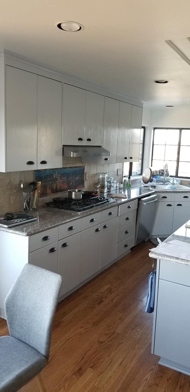 kitchen cabinet painting San Diego